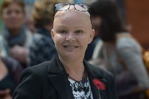 Gail Porter was forced to sleep rough in 2014 and 2017. Picture: contributed