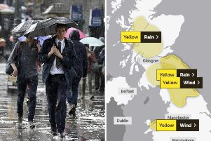 Numerous yellow weather warnings in place for high winds and heavy rain across Scotland