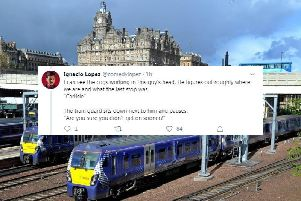 Stand-up comedian shares hilarious blow-by-blow account of Edinburgh-bound train passenger who tried to scam cheaper ticket