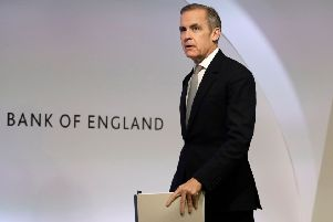 Mark Carney's advice was treated as a contrary indicator by wags. Picture: Kirsty Wigglesworth/Getty