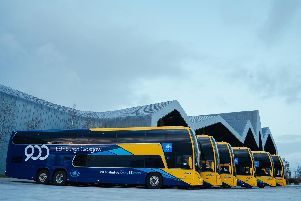 Customers can enjoy free travel on the 900 service between Glasgow and Edinburgh this weekend (18-19 Jan) (Photo: Scottish Citylink)