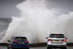 Coastal routes, sea fronts and coastal communities affected by spray and/or large waves, according to the Met Office (Getty Images)