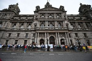 Cosla says local authorities such as Glasgow are being forced to cut back unprotected services