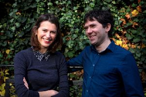 Good-Loop co-founders Amy Williams and Daniel Winterstein. Picture: Contributed