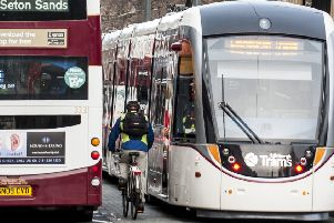 Buses, trams and bikes will all have their part to play in the coming transport revolution. Picture: Ian Georgeson