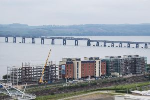 Dundee has seen an explosion in new property development and investment in recent years as part of the revamp of its waterfront area. Picture: John Devlin