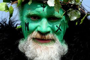 Could you be the Green Man of Beltane Fire Festival? (Picture: Lisa Ferguson)