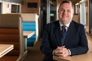 Ryan Flaherty, who has left his role as managing director of the Caledonian Sleeper (Photo: Serco)