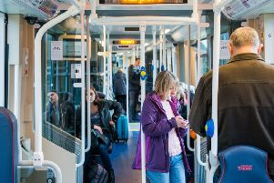 A city-wide tram network is back on the table. Picture: Ian Georgeson
