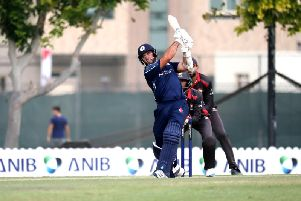 Kyle Coetzer in action against the United Arab Emirates