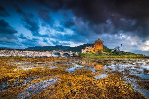 a stronghold of the Clan Mackenzie