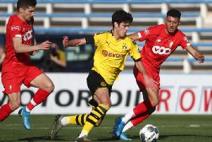 Gio Reyna has impressed for Borussia Dortmund's under-19 team. Picture: Getty Images