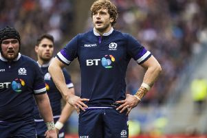 Richie Gray last played for Scotland in the 2018 Six Nations. Picture: SNS