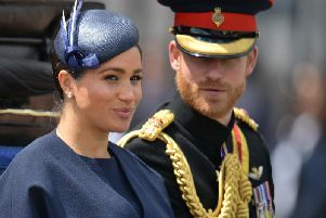 The Duke and Duchess of Sussex have said they will step back from Royal duties.