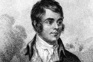 Burns is widely regarded as the national poet of Scotland (Photo: Shutterstock)