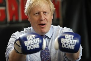 Prime Minister Boris Johnson won the recent general election, saying he wanted to 'Get Brexit done' (Picture: Frank Augstein - WPA Pool/Getty Images)