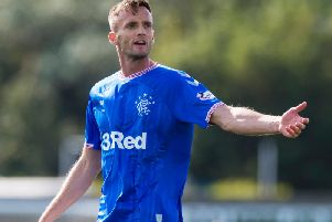 Andy King appeared for Rangers only fleetingly. Picture: SNS