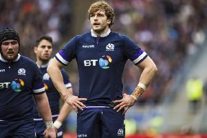 Richie Gray's return to Glasgow could boost his hopes of representing Scotland again. Picture: Gary Hutchison/SNS/SRU