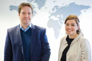 ShareIn co-founders Andrew Pickett (chief technology officer) and Jude Cook (CEO). Picture: Contributed