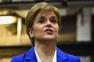 Nicola Sturgeon has been urged by Kenny MacAskill and other party colleagues to focus more on the domestic agenda. Picture: PA
