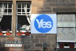 The Yes Scotland campaign was charged with building ground level support for independence in the run up to the 2014 referendum. PIC: TSPL/Jane Barlow.