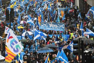 Last year Police Scotland dealt with increasing numbers of large-scale protests on issues including independence, Brexit and climate change.