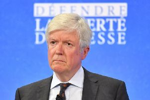 In a letter to staff, Lord Hall said he would be standing down in the summer.