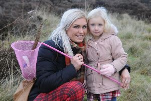 Leanne Macdonald and young Maisie.
