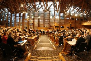 """In letters sent to Scottish and Welsh ministers addressing their refusal to give legislative consent to Boris Johnson's Brexit deal, Secretary of State for Exiting the European Union Steve Barclay said he recognised the """"significant role"""" played by the legislative consent process.Picture: Scottish Parliament/Andrew Cowan"""