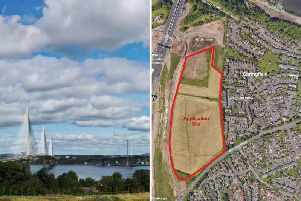 Plans revealed for 180 new homes next to Queensferry Crossing - including affordable housing