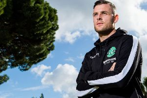 Anthony Stokes has enjoyed three spells with Hibs during his career. Picture: SNS