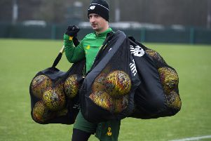 Leigh Griffiths has the motivation and ability to silence his critics says Celtic manager Neil Lennon. Picture: SNS.