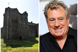 The late Terry Jones lent his vocal talents to the official audio tour at Doune Castle in 2009. Picture: TSPL/PA