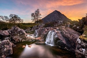 Acting as a gatekeeper to both Glencoe and Glen Etive, the view of Buachaille Etive Mor is one of the most iconic in all of Scotland. The Great Herdsmans pyramidal shape dominates the landscape when viewed directly from the west.