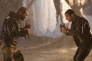 Tom Cruise, as Jack Reacher, squares up for a fight in the film version of Lee Child's books (Picture: PA)
