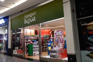 Hawkin's Bazaar has suspended its website but said trading will continue from its 20 stores until further notice.
