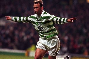 Daniel Stendel says former Celtic player Andreas Thom was one of the best strikers East Germany had