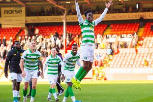 Jeremie Frimpong is attracting interest from England. Picture: SNS