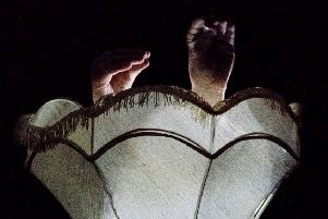 A scene from Lamp, showing as part of the 2020 Manipulate Festival at Summerhall