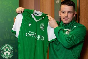 Marc McNulty has joined Hibs on loan from Reading. Picture: Craig Foy / SNS