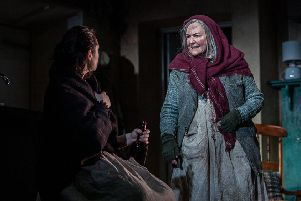 Gwen Taylor in The Croft, by Ali Milles