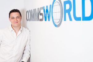 Charlie Boisseau of Commsworld - faster and more robust connections. Picture: Contributed