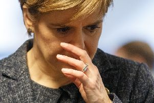 Unionists have been joined by some Nationalists in criticising Nicola Sturgeon but for different reasons (Picture: Robert Perry/pool/AFP via Getty Images)