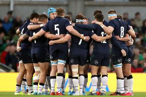 Scotland's performance against Ireland at the Aviva Stadium should give them confidence going into the Calcutta Cup clash. Picture: Niall Carson/PA Wire.
