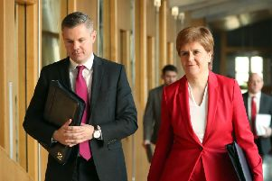 First Minister Nicola Sturgeon is on the hunt for a replacement for outgoing Derek Mackay. Picture: Jane Barlow/PA Wire