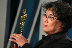Bong Joon-ho's Parasite surprised and delighted the film world with four Oscar wins (Getty Images)