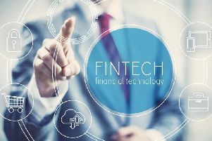 FinTech Scotland estimates there are now 119 fintech SMEs across the country. Picture: Contributed