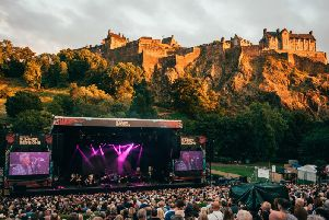 Sir Tom Jones was the first to play a 'Summer Sessions' gig in Princes Street Gardens when the open-air concert series was launched in 2018.