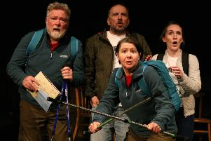Four fine performances from Lewis Howden, Keith Fleming, Irene Allen and Kim Gerard as they keep the comedy coming