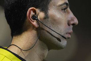 Should football referees be mic'd up like their rugby counterparts?